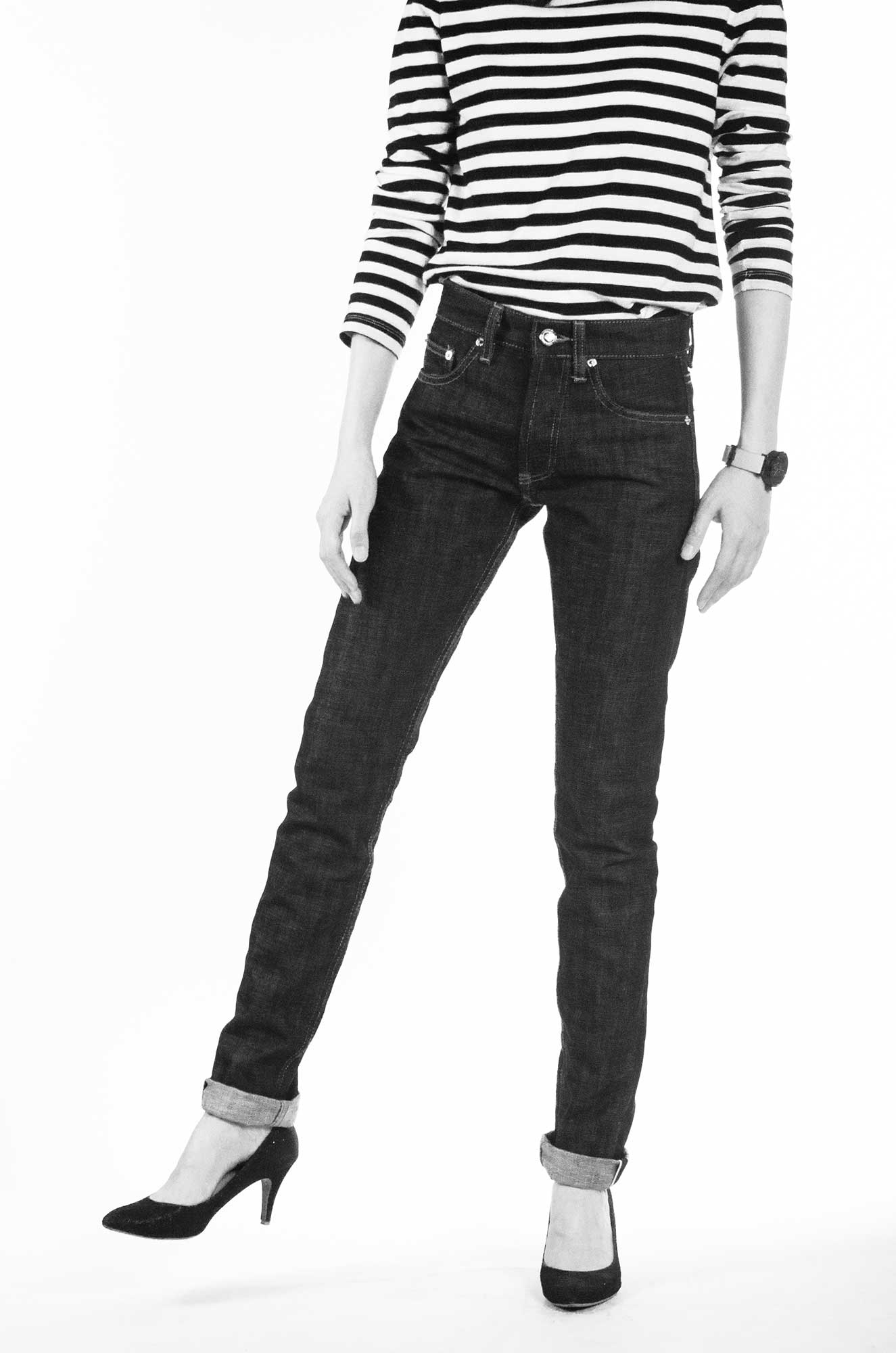 Trine Denimes Women Raw Denim Selvedge