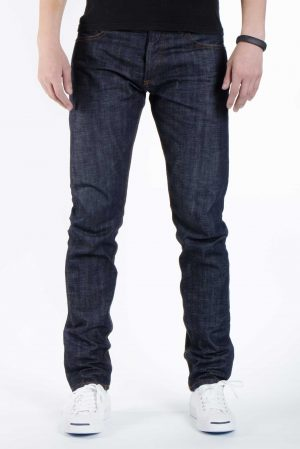 Trine Denimes Men Raw Denim Jeans Modern Slim fit Jeans